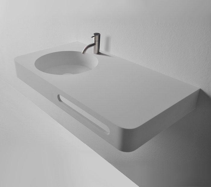 Ideavit wall hung basin option