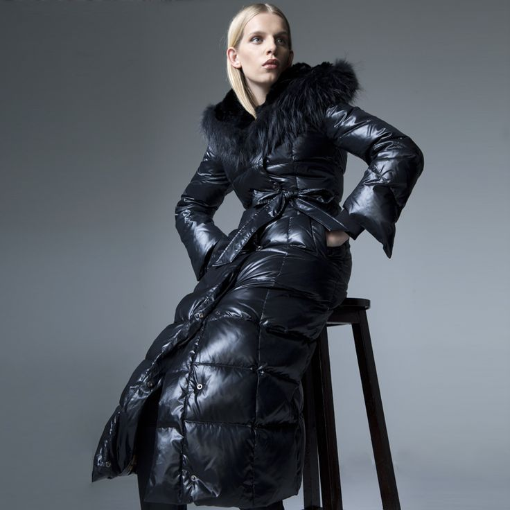 1000  ideas about Long Down Coat on Pinterest | Down coat Black