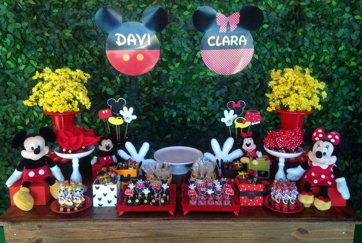 Personal fest - Aluguel para festas e eventos - Festa Mickey e Minnie