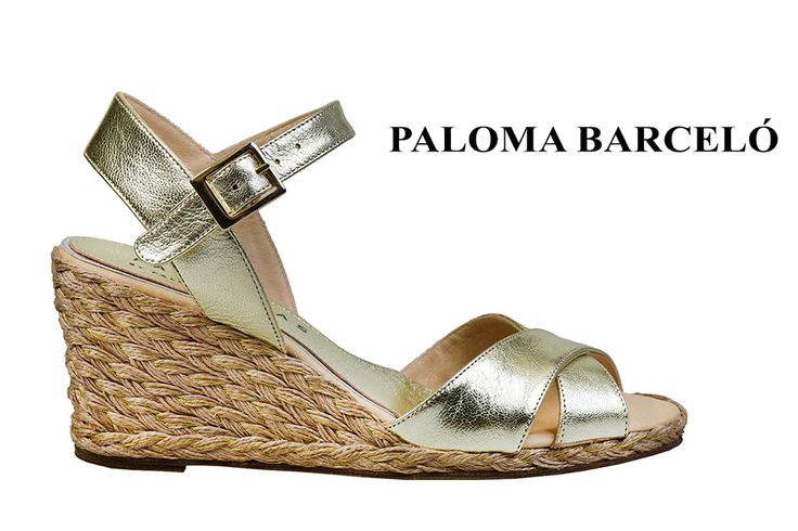 Bronze wedges espandrille by Aploma Barcelo. Shop your unique pair of style in Thessaloniki in Galleria Di Scarpe