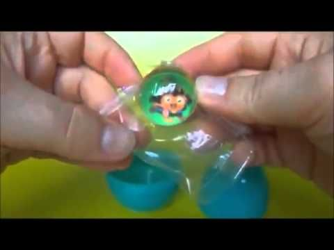 Peppa Pig Kinder Surprise Play Doh Under the Water