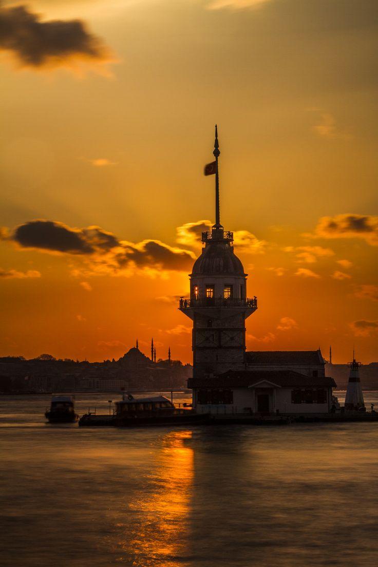 Maiden's Tower / Kız Kulesi Istanbul,TUrkey