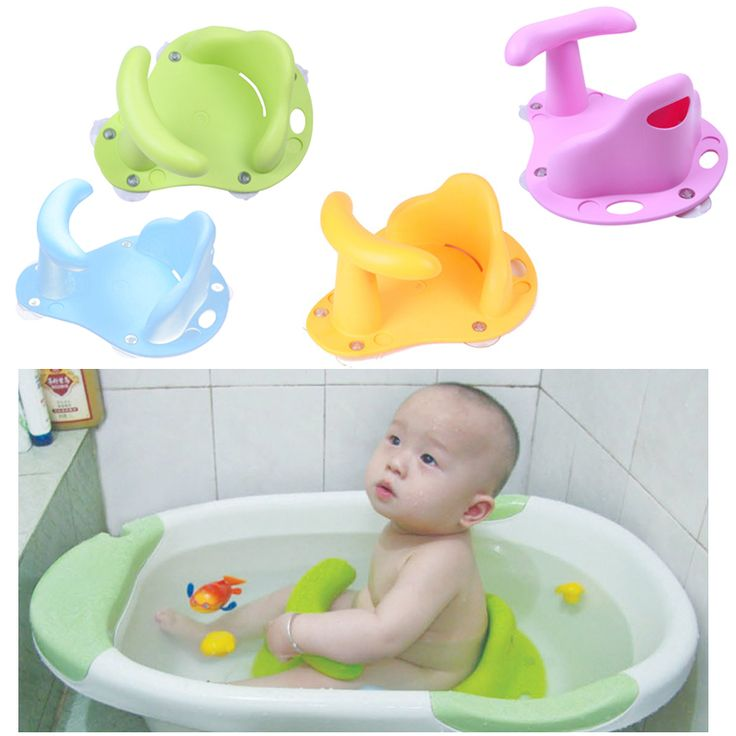 shibaba baby toddler bath tub ring seat chair. baby infant kid child toddler bath seat ring non slip anti-slip safety security chair mat pad tub bathtub 3 color conditioner shibaba pinterest