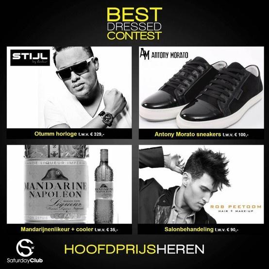 GENTS make SURE you SHINE!! Wie weet nomineert Fred van Leer jou wel tijdens het 1 jarig bestaan van SaturdayClub op 6 april 2013!