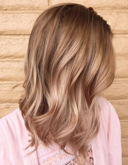 Deep Rose Golden Hair Colors 2018 Dark Blonde Hair Hair And Makeup