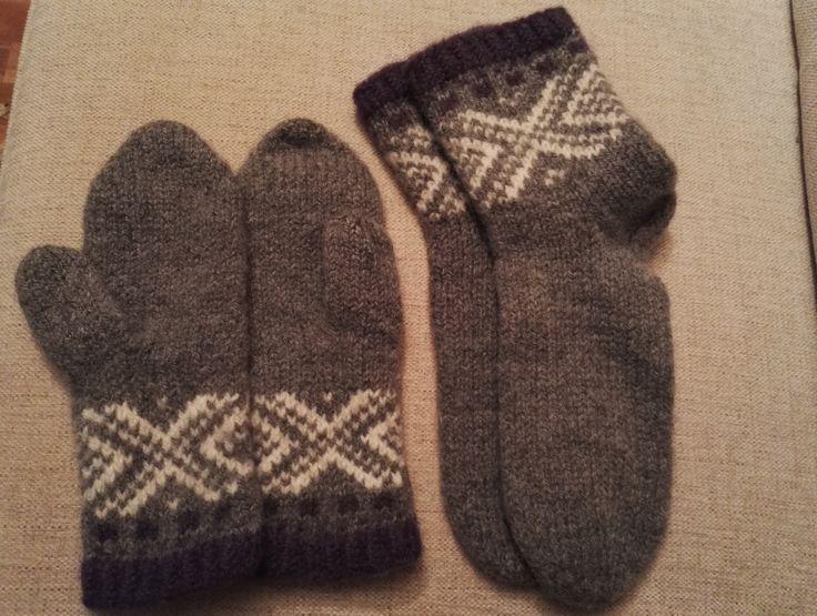 Tovede votter og sokker