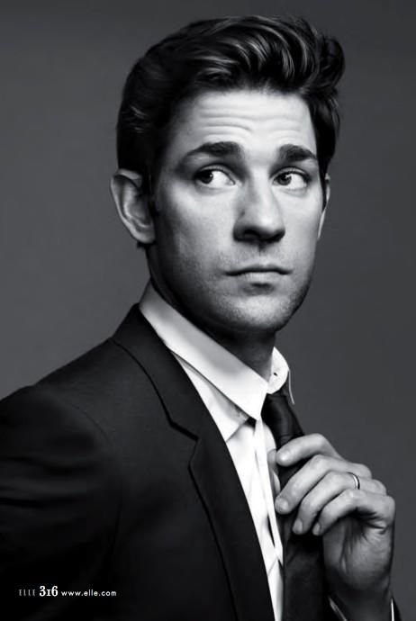 John Krasinski (Portrait for US ELLE by DAMON BAKER)