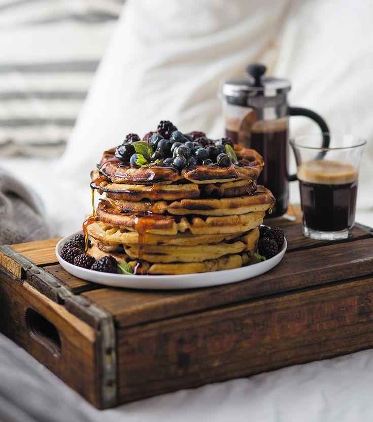 The best waffles | Die beste-este wafels - rooi rose