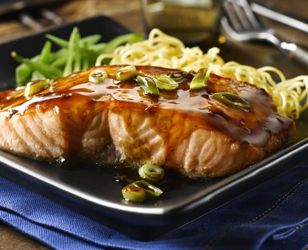 Hoisin Glazed Salmon #recipe