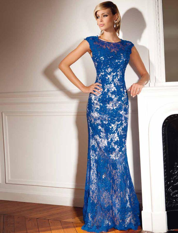 Luxusné spoločenské šaty svadobný salón valery, celokrajkové šaty, šaty na ples