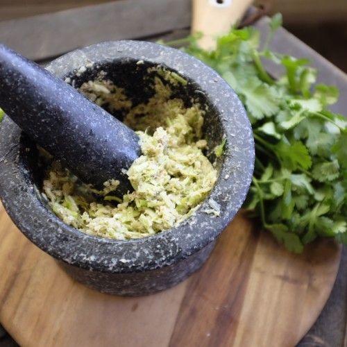 Garlic and Coriander (Cilantro) Paste