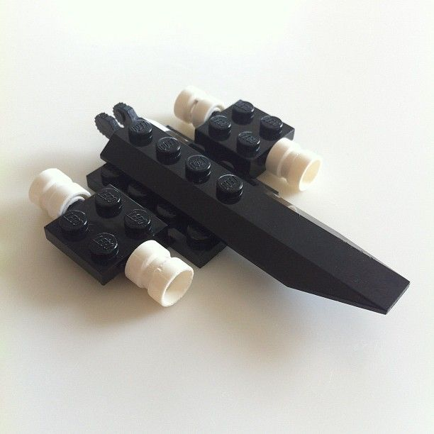 Lego model of an SR-71 Blackbird (not lifesize).  Photo by conormcnicholas