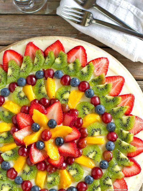 Pinterest cuisine : la rosace de fruits