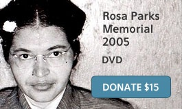 Democracy Now - On Rosa Parks 100th Birthday, Recalling Her Rebellious Life Before and After the Montgomery Bus.