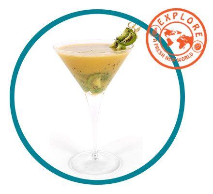 Kiwiberry Cocktail