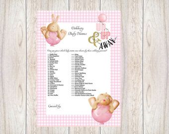 Celebrity Baby Name Guessing GameBaby Shower IdeasInstant