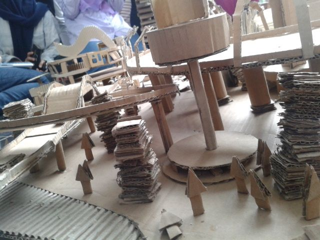 "Maket ""City of Motion"" , My project angle 5"