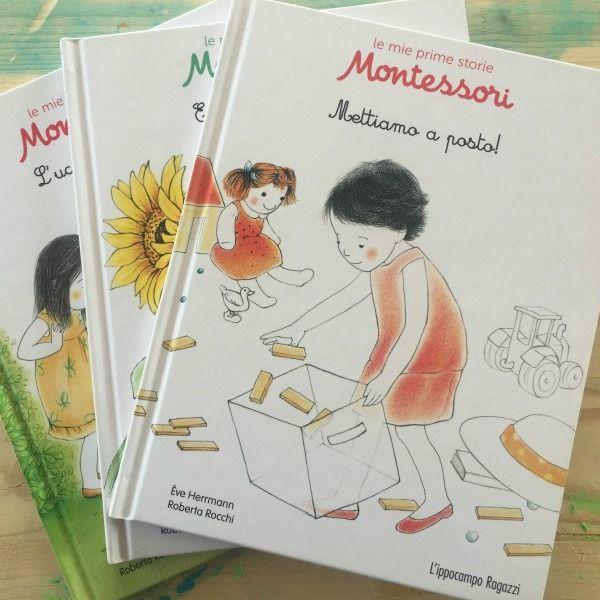 Le mie prime storie Montessori: tre nuovi bellissimi libri proposti dalla casa editrice L'Ippocampo. Da avere sullo scaffale basso!