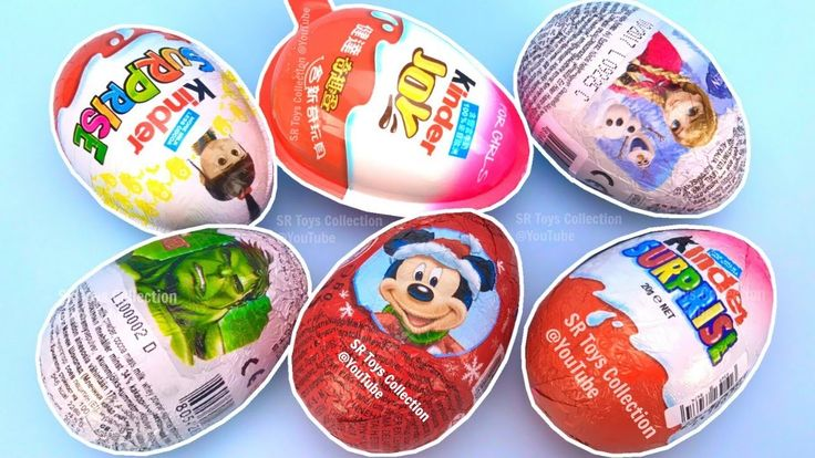 Super Surprise Eggs Kinder Surprise Kinder Joy Minions Disney Frozen Mic...