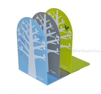 18.99$  Watch here - http://alib8n.shopchina.info/go.php?t=32369943493 - 1 pair  book end lovely tree designed for student strong metal 8 inch 200mm big size desk accessories organizer Deli 9267 18.99$ #buyonline