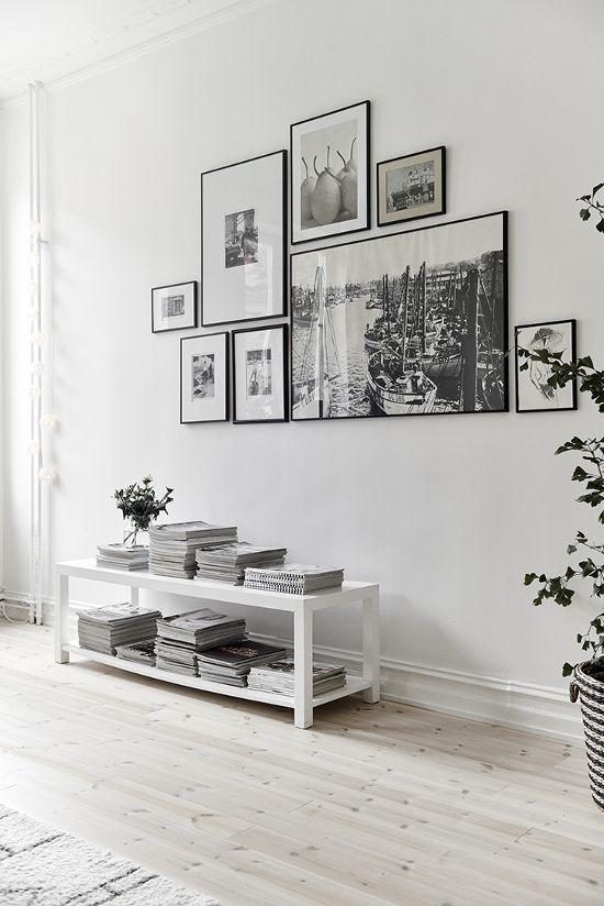5 INSPIRATIONS TO HANG ART ON WALLS Toile et tableaux - La touche d'Agathe - wall art frame murs décor PHOTOS display #FredericCla