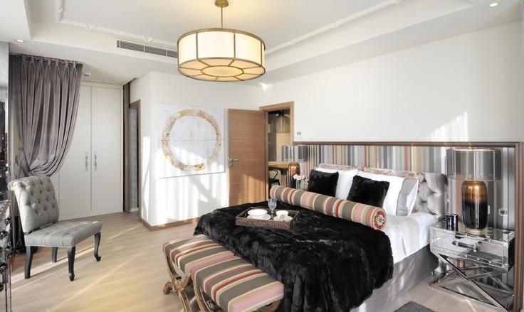 Dumankaya Ritim İstanbul Örnek Daire - Yatak Odası