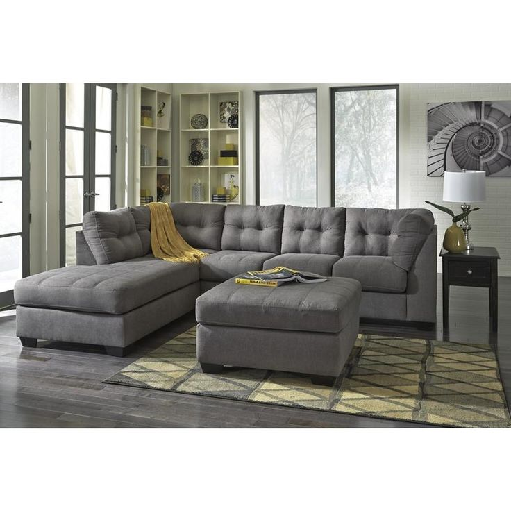 Maier Fabric 2-Piece Sectional by Benchcraft. #furniture #livingroomfurniture #familyroom #sectional