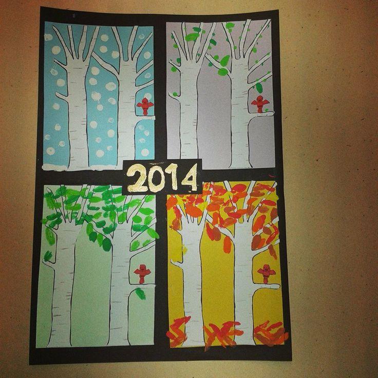 nieuwjaarsbrief 2014 - 4 seizoenen