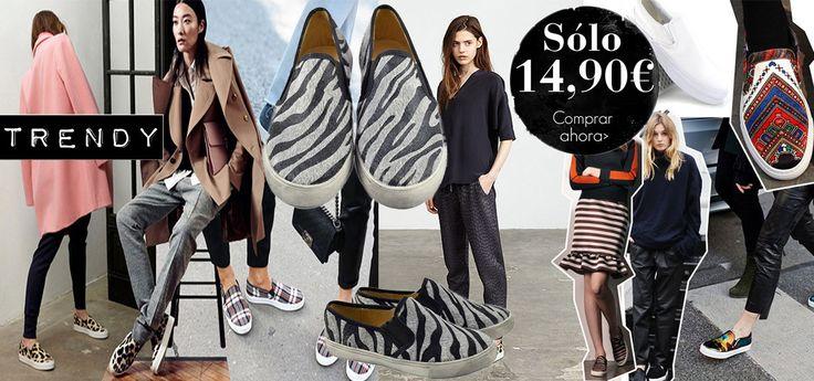 Bannerslipons.  #deportivas #zapatillas #streetstyle #tendencias #moda #tiendaonline