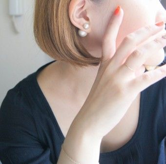 uni : Cotton pearl pierce | Sumally