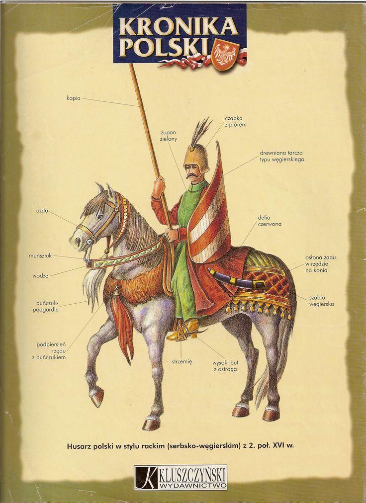 Husarz z połowy XVIw