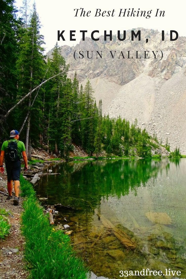 Hiking in Idaho. The best hiking in Sun Valley. The best hiking in Ketchum, Idaho. Read about our time hiking in Sun Valley, Idaho and how beautiful it is!