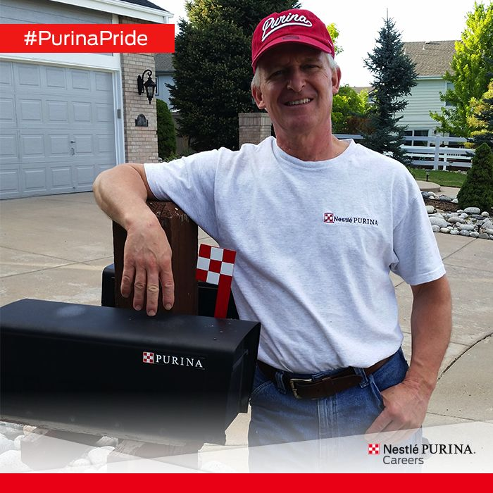 Check out Denver associate Keith showing off his Purina Pride! Thanks, Keith, for your service to Purina!