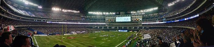 The Toronto Argonauts hosting the Montreal Alouettes at Rogers Centre, home of the 100th Grey Cup.