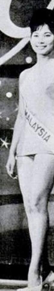 Angela Filmer - Miss Universe Malaysia 1964
