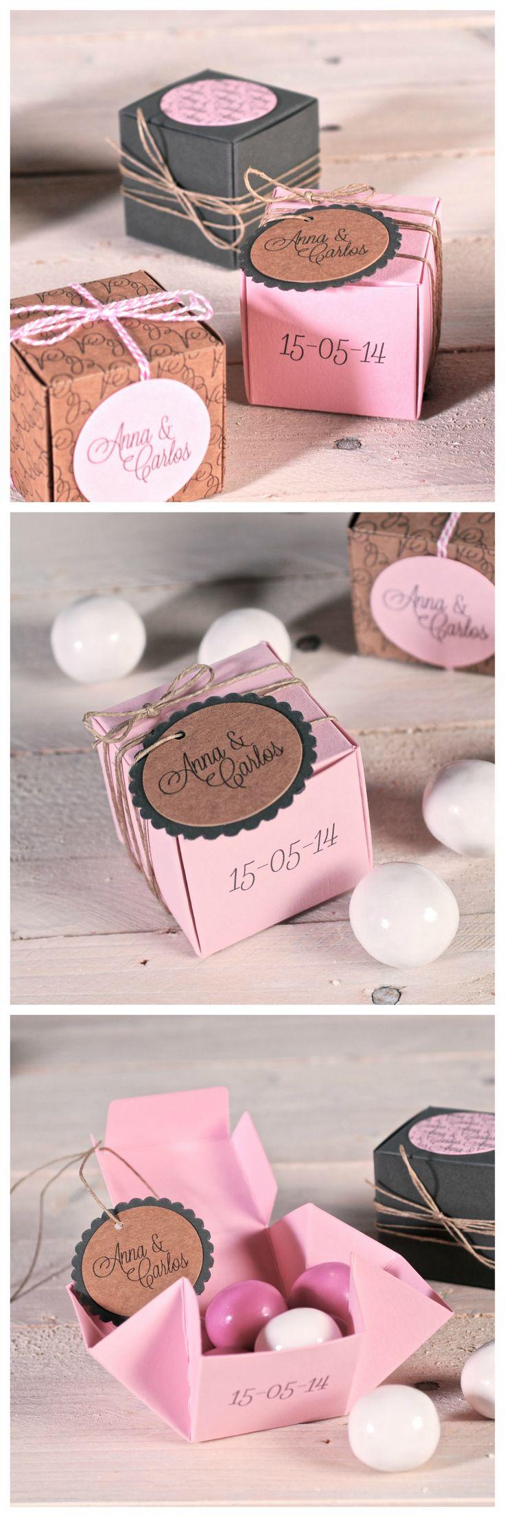 wedding boxes decorated by selfpackaging, ref. 1505-S  www.selfpackaging.com