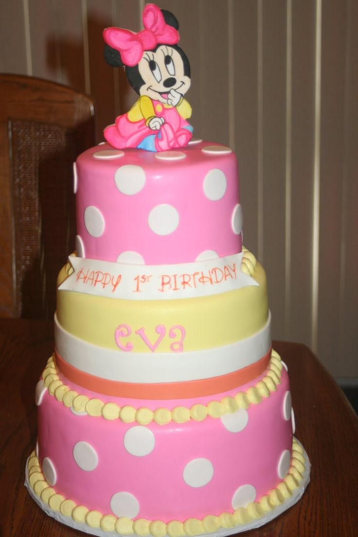 182 best minnie mouse baby party ideas images on pinterest for Baby minnie decoration