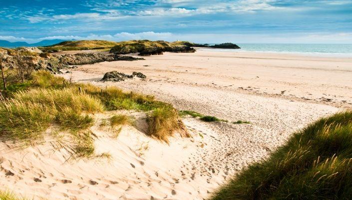 Aberffraw Beach, Anglesey, North Wales, UK