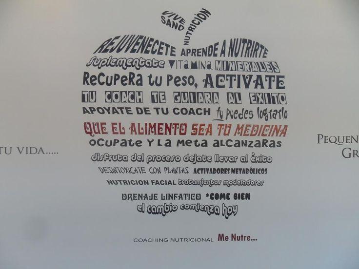 Consultorio de Nutrición - VinilAG Vinilos Decorativos Monterrey