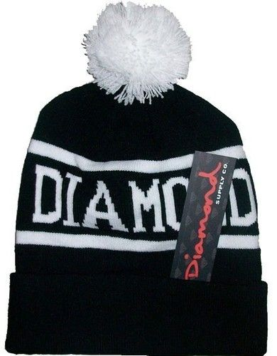 New Unisex Chic Diamond Supply Co Beanie Mens Womens Knit Cap Wool Hat Blacks | eBay
