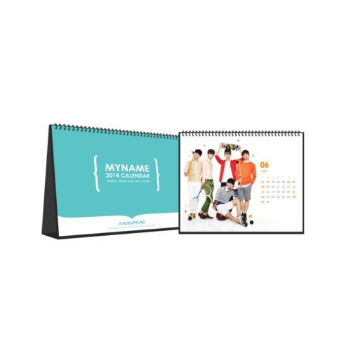 [2014 K-POP Season Greeting] My Name Idol Star Collection (Table Calendar)