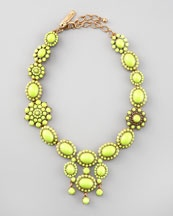 Oscar de la Renta necklace - perfect for that weekend afternoon at Bob's Bar!    #Capella #Singapore #Resort #Sentosa #Fashion #Luxury