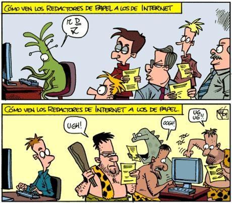 periodismo impreso contra periodismo digital jajajaja