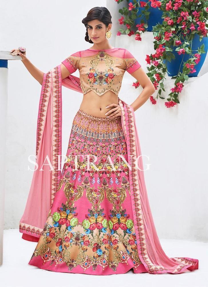 Traditional Indian Choli Bollywood Bridal Lehenga Ethnic wear Pakistani Wedding #Kriyacreation #CircularLehenga