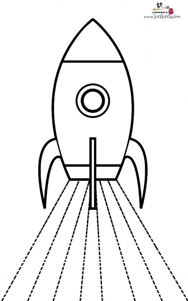 Roket Makas Calismalari Okul Oncesi Preschool Okul Oncesi