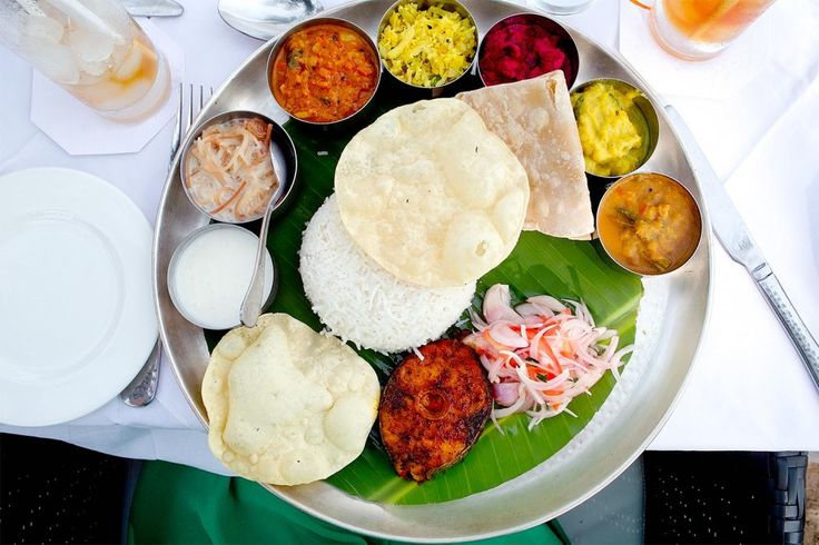 LOCAL EATS : THALI, KERALA STYLE