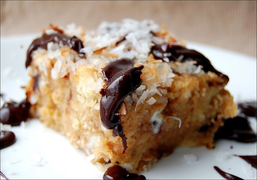 coconut-chocolate chip bread pudding | Recipes I Should Try | Pintere ...