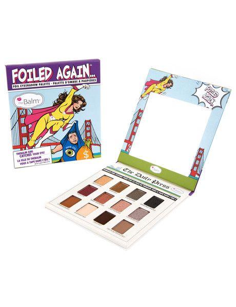 The Balm Foiled Again Foil Eyeshadow Palette #Shoproads #onlineshopping #Eyes