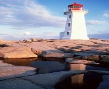 Peggy's Cove Lighthouse - an iconic lighthouse in Canada.