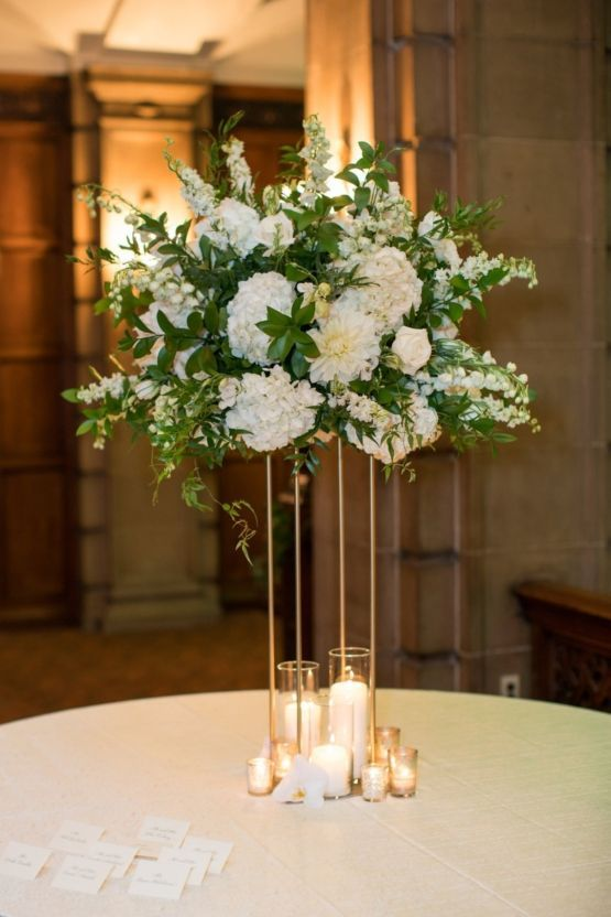 This luxurious Chicago cathedral wedding is fit for royalty